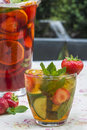 PImms With Lemonade Royalty Free Stock Photos - 56350928