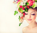 Spring Woman. Royalty Free Stock Image - 56363356