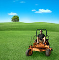 Mowing Royalty Free Stock Photo - 5648765
