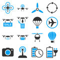 Copter Tools Icon Set Royalty Free Stock Photos - 56404468