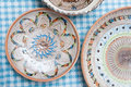 Pottery Plates Royalty Free Stock Photo - 56410895