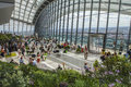 The Sky Garden At 20 Fenchurch Street In London Royalty Free Stock Image - 56419736