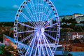Russian Wheel By Dawn Stock Images - 56420314