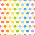 Pattern With Colorful Ice Creams Stock Photography - 56438572