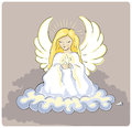 Holy Angel Royalty Free Stock Image - 56465606