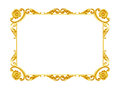 Ornament Elements, Vintage Gold Frame Floral Designs Royalty Free Stock Photo - 56466895