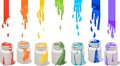 Paint Cans Royalty Free Stock Image - 56472426