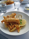 Fish And Chips Royalty Free Stock Image - 5650726