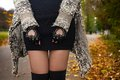 Autumn Girl Stock Images - 56520144