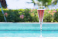 Glass Of Kir Royal Stock Photo - 56547430