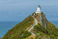 Lighthouse At Nugget Point New Zealand Royalty Free Stock Photo - 56553165