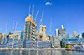 Office Buildings Under Construction Stock Images - 56554034