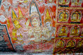 Wall Paintings And Buddha Statues At Dambulla Cave Golden Temple Stock Image - 56571921