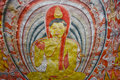 Wall Paintings And Buddha Statues At Dambulla Cave Golden Temple Royalty Free Stock Photography - 56572207