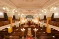 Interior Of Bethlen Teri Synagogue, Budapest Royalty Free Stock Photography - 56572487