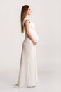Young And Beautiful Pregnant Woman In A Dress Stock Photography - 56573922