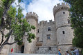 Entrance To The Grand Master Palace In Old Town Of Rhodes Royalty Free Stock Image - 56595336