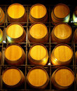 A Wall Of Wine Barrels Royalty Free Stock Image - 5661416