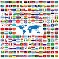 Official Flags Of The World Stock Image - 5663091