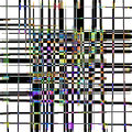 A Trellis Plaid Abstract With Color Accents. Royalty Free Stock Photography - 56620737