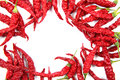 Red Dried Chilli Isolated Royalty Free Stock Photography - 56648997