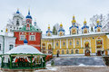 Russian Orthodox Monastery Royalty Free Stock Image - 56672556