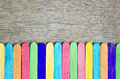 Colorful Of Wood Ice Cream Stick Royalty Free Stock Image - 56673476