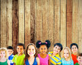 Diversity Children Friendship Innocence Smiling Concept Royalty Free Stock Photo - 56679115