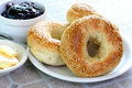 Bagels And Jam Royalty Free Stock Photo - 5679785