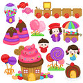 Candy Land Stock Images - 56712744