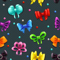 Bows Pattern Stock Images - 56723364