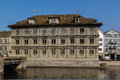 Zurich Town Hall Royalty Free Stock Photography - 56737107