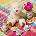 Teddy Bear Tea Party Royalty Free Stock Photography - 56737657