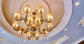 Chandelier Ceiling Light Stock Photography - 56776202