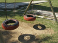 Playground Swings Stock Images - 5683514