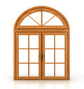 Arched Wooden Window Stock Photography - 56800032