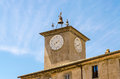 Medieval Clocktower Royalty Free Stock Photo - 56804975
