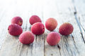 Fresh Litchi Stock Photography - 56808092
