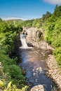 High Force Waterfall Portrait Royalty Free Stock Photos - 56817828