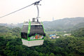 The Maokong Gondola In Taibei,Taiwan. Royalty Free Stock Images - 56847999