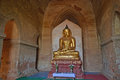 Buddha Into The Temple. Bagan, Myanmar Stock Images - 56859764