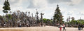 Hill Of Crosses Royalty Free Stock Photography - 56861497