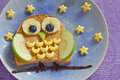 Owl Sandwich For The Kids Royalty Free Stock Photo - 56862255
