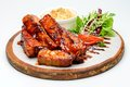 Fried Ribs Royalty Free Stock Images - 56869899