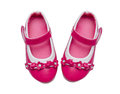 Pink Child Shoes Stock Image - 56873581