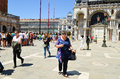 Tourists In Venice,Italy Royalty Free Stock Images - 56892769