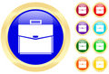 Icon Of A Briefcase On Buttons Royalty Free Stock Image - 5693076