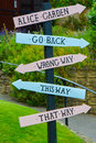Sign Post Royalty Free Stock Photos - 56931318