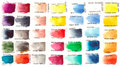 Set Of Watercolors With Names Royalty Free Stock Photo - 56949065