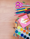 School And Office Supplies Royalty Free Stock Photos - 56954478